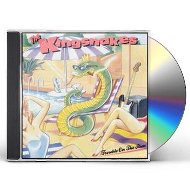 Kingsnakes TROUBLE ON THE RUN CD