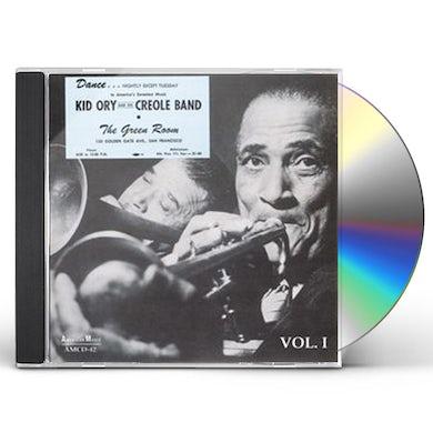 Kid Ory AT THE GREEN ROOM 1 CD