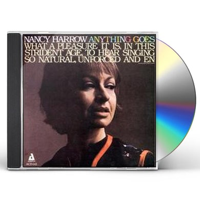 Nancy Harrow ANYTHING GOES CD