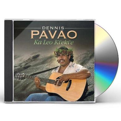Dennis Pavao KA LEO KI'EKI'E CD
