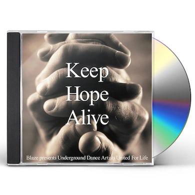 The Blaze KEEP HOPE ALIVE: LIFEBEAT BENEFIT COMPILATION CD