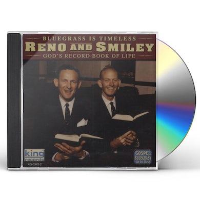 Reno & Smiley GOD'S RECORD BOOK OF LIFE CD
