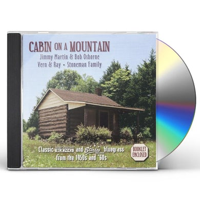 Jimmy Martin CABIN ON A MOUNTAIN CD
