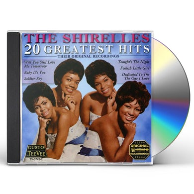 The Shirelles 20 GREATEST HITS CD