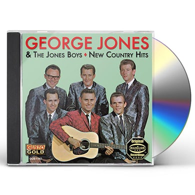 George Jones NEW COUNTRY HITS CD
