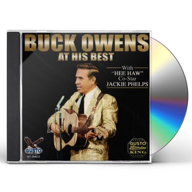 Buck Owens AT HIS BEST CD