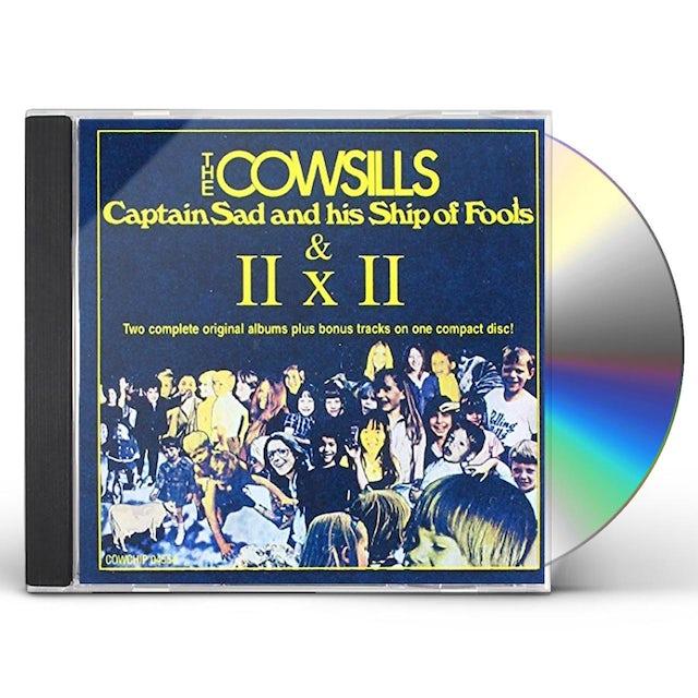 Cowsills CAPTAIN SAD & HIS SHIP OF FOOLS CD