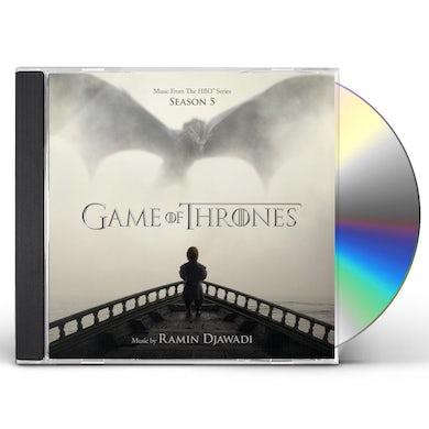 RAMIN DJAWADI GAME OF THRONES SEASON 5 - TV Original Soundtrack CD