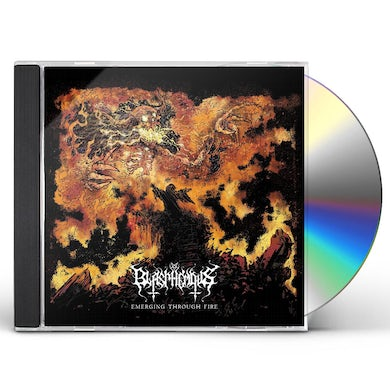 Blasphemous EMERGING THROUGH FIRE CD