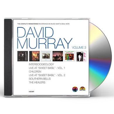 David Murray THE COMPLETE REMASTERED RECORDINGS CD
