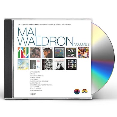 MAL WALDRON - THE COMPLETE REMASTERED RECORDINGS 2 CD