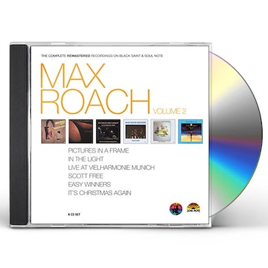 MAX ROACH - THE COMPLETE REMASTERED RECORDINGS 2 CD