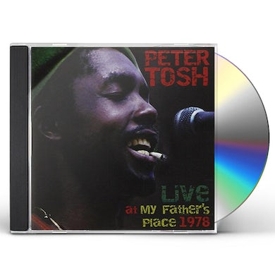 Peter Tosh LIVE AT MY FATHERS PLACE CD