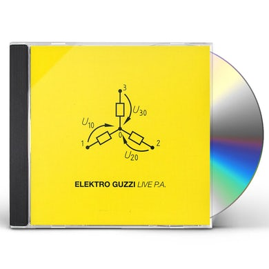 Elektro Guzzi LIVE PA CD