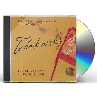 P.I. Tchaikovsky SYM 5/MARCHE SLAVE CD