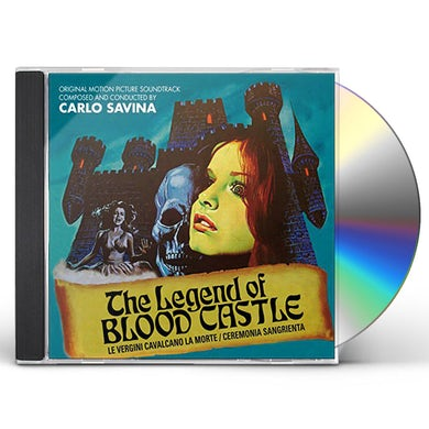 Carlo Savina LEGEND OF BLOOD CASTLE / Original Soundtrack CD
