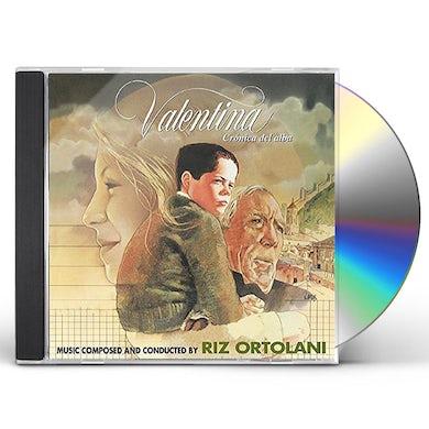 Riz Ortolani VALENTINA ET CRONICA DEL ALBA / Original Soundtrack CD