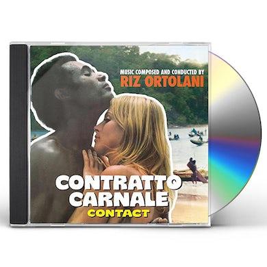 Riz Ortolani CONTRATTO CARNALE / Original Soundtrack CD