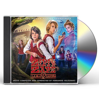 Fernando Velazquez ZIPI Y ZAPE Y LA ISLA DEL CAPITAN / Original Soundtrack CD