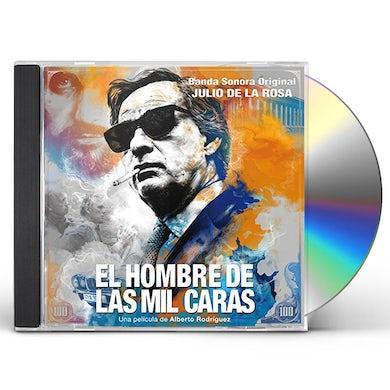 Julio De La Rosa EL HOMBRE DE LAS MIL CARAS / Original Soundtrack CD