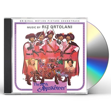Riz Ortolani 5TH MUSKETEER / Original Soundtrack CD