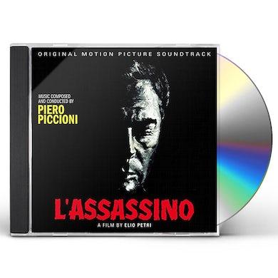 Piero Piccioni L'ASSASSINO / Original Soundtrack CD