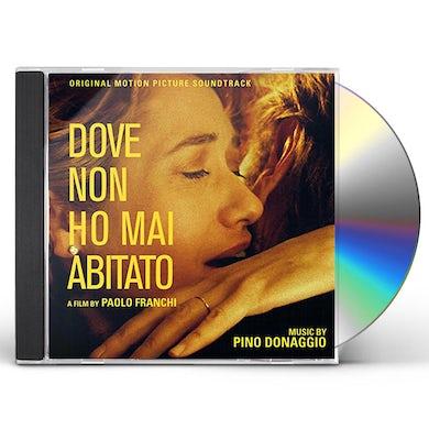 Pino Donaggio DOVE NON HO MAI ABITATO / Original Soundtrack CD