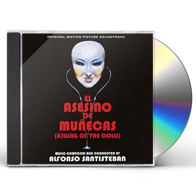 Alfonso Santisteban KILLING OF THE DOLLS / NECROPHAGUS / Original Soundtrack CD