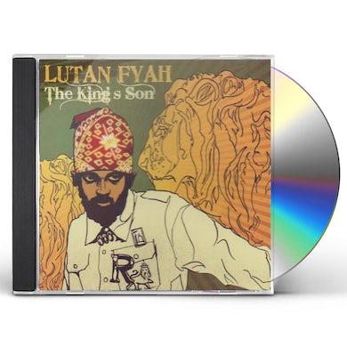 Lutan Fyah KING'S SON CD