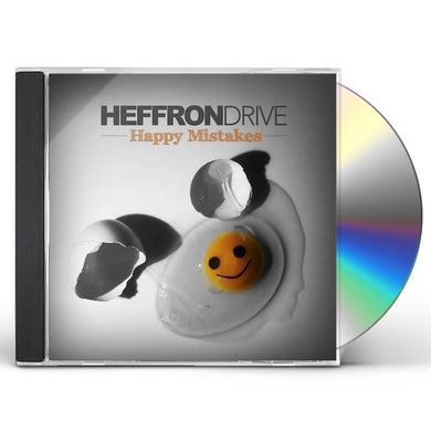Heffron Drive HAPPY MISTAKES CD