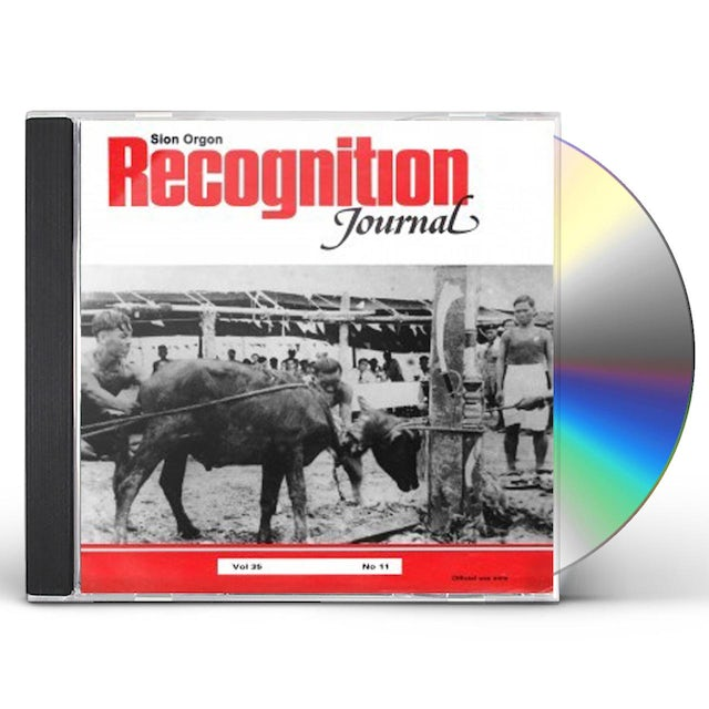 Sion Orgon RECOGNITION JOURNAL CD