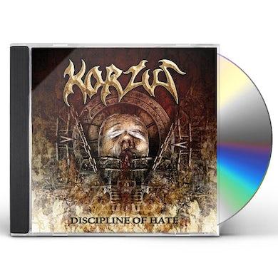 Korzus DISCIPLINE OF HATE CD