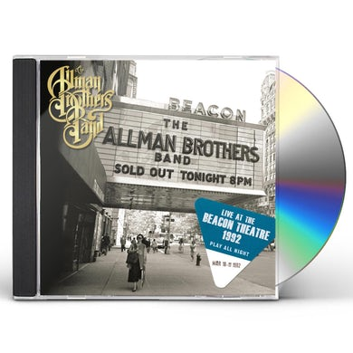 The Allman Brothers Band  PLAY ALL NIGHT: LIVE AT THE BEACON THEATER 1992 CD