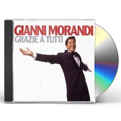 Gianni Morandi TUTTI GRAZZIE CD