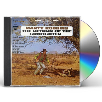 Marty Robbins RETURN OF THE GUNFIGHTER CD