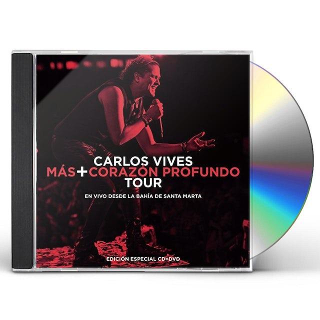 Carlos Vives MAS + CORAZON PROFUNDO TOUR: EN VIVO DESDE LA BAHI CD
