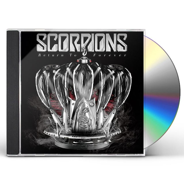 Scorpions RETURN TO FOREVER CD