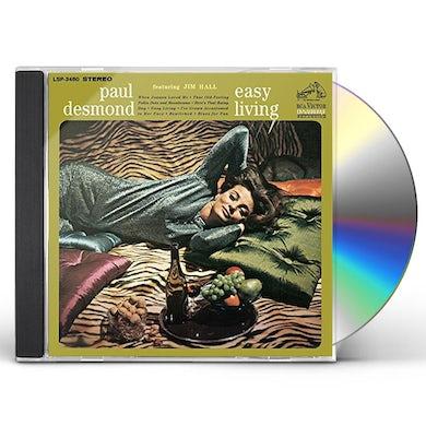 Paul Desmond EASY LIVING CD