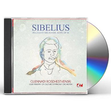 Sibelius PELLEAS ET MELISANDE SUITE OP. 46 CD