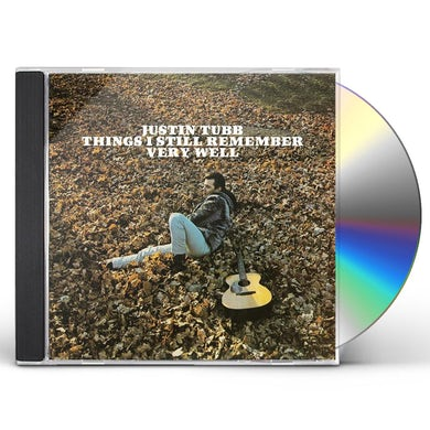 Justin Tubb THINGS I STILL REMEMBER VERY WELL CD
