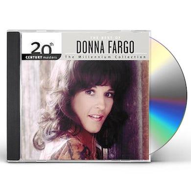 Donna Fargo 20TH CENTURY MASTERS: MILLENNIUM COLLECTION CD