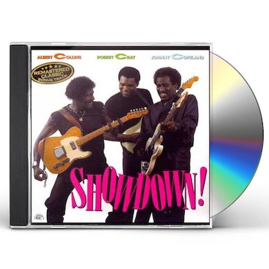 Albert Collins / Robert Cray / Johnny Copeland SHOWDOWN CD