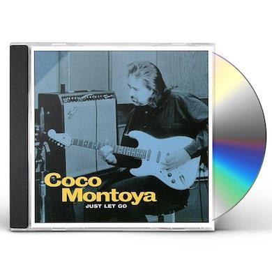 Coco Montoya JUST LET GO CD