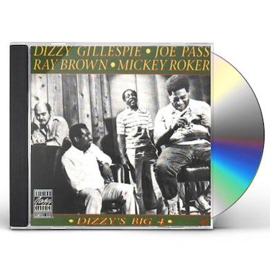 Dizzy Gillespie DIZZY'S BIG 4 CD