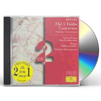 5 Violin Concertos; Sinfonia Concertante (2 CD) CD