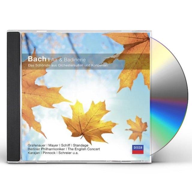 J.S. Bach AIR UND BADINERIE CD