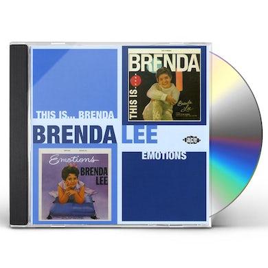 Brenda Lee THIS IS BRENDA / EMOTIONS CD