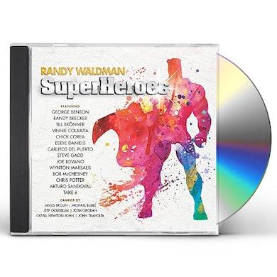 Randy Waldman SUPERHEROES CD