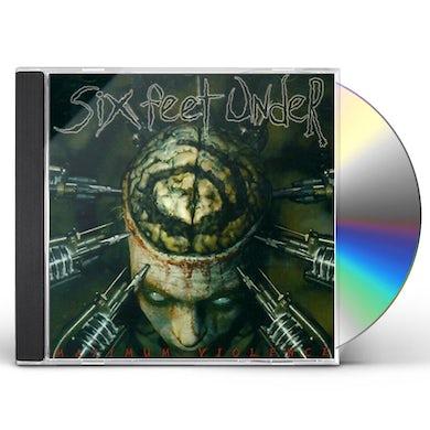 Six Feet Under MAXIMUM VIOLENCE CD