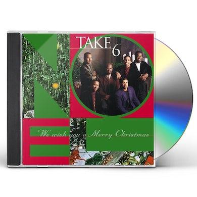Take 6 WE WISH YOU A MERRY CHRISTMAS CD